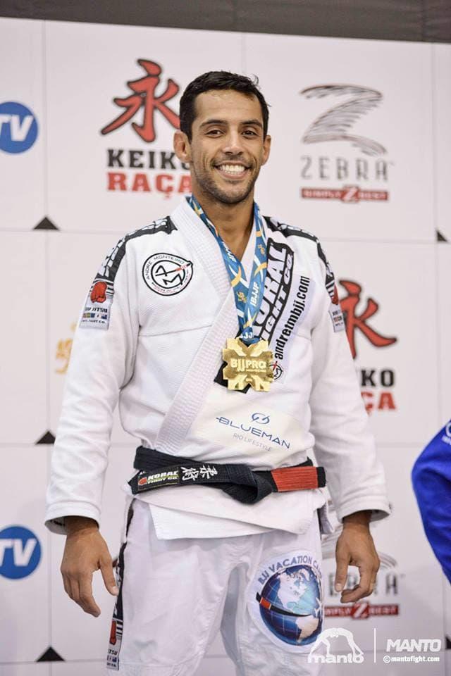 """Andre """"Tim"""" Monteiro in Great Neck - A Force Brazilian Jiu Jitsu"""