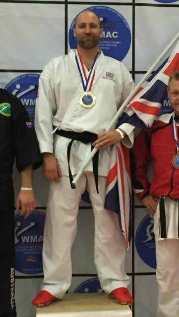Steven Webster in Great Yarmouth - East Coast Black Belt School