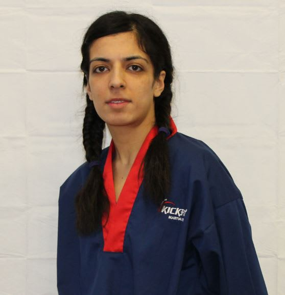 Miss Hussain in Slough - KickFit Martial Arts Slough