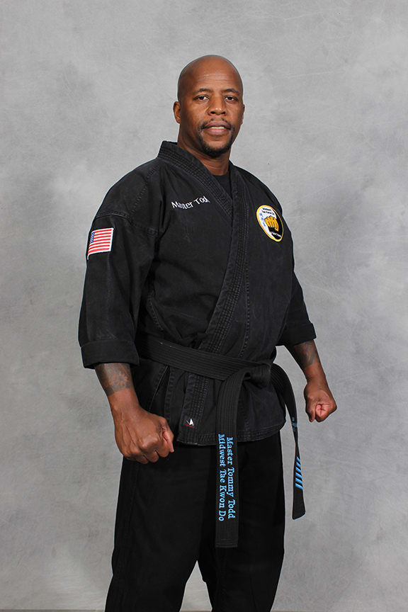 Master T. Todd in Omaha - Midwest Taekwondo