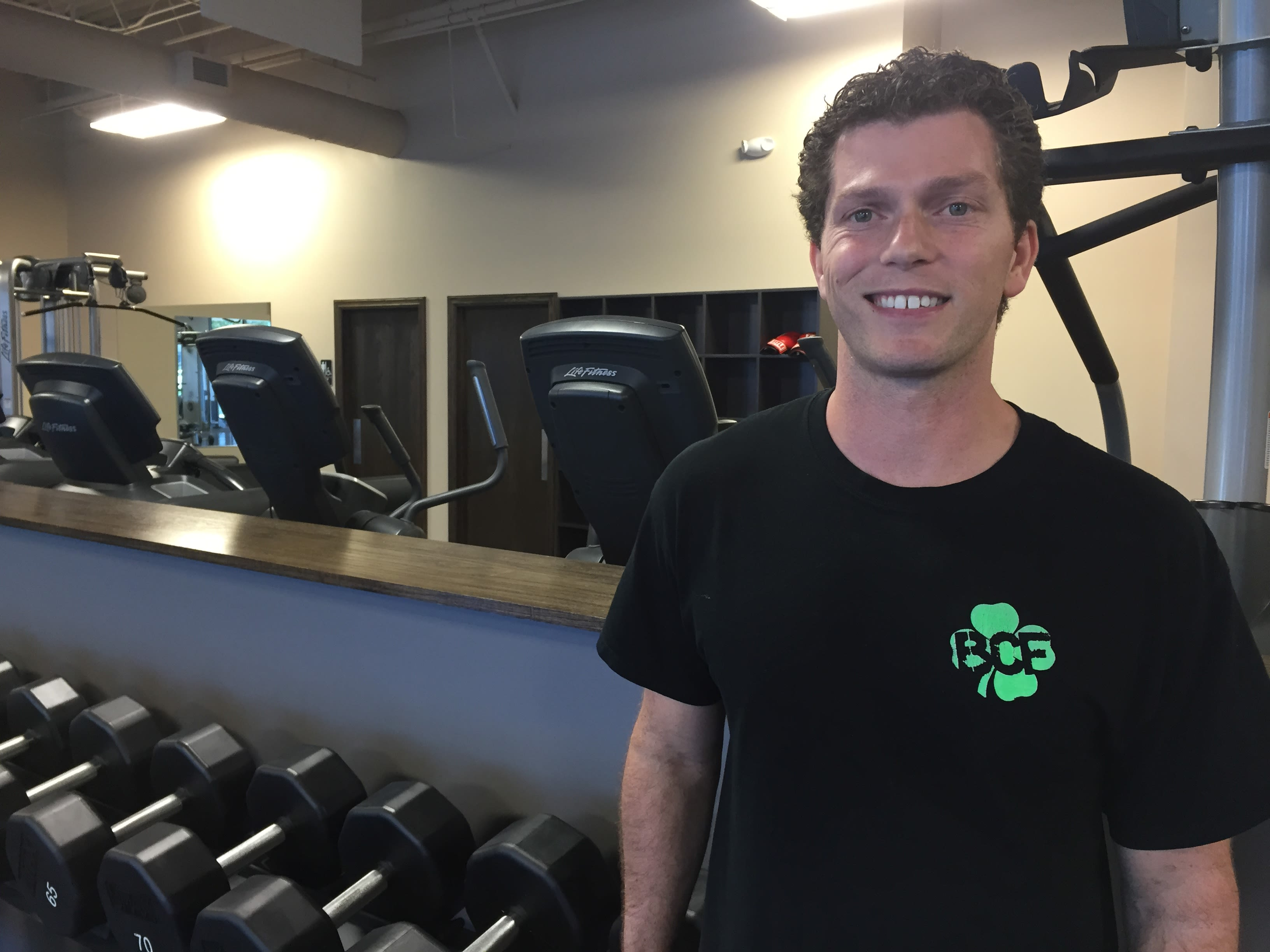 Peter Saltsgaver in Omaha - Black Clover Fitness