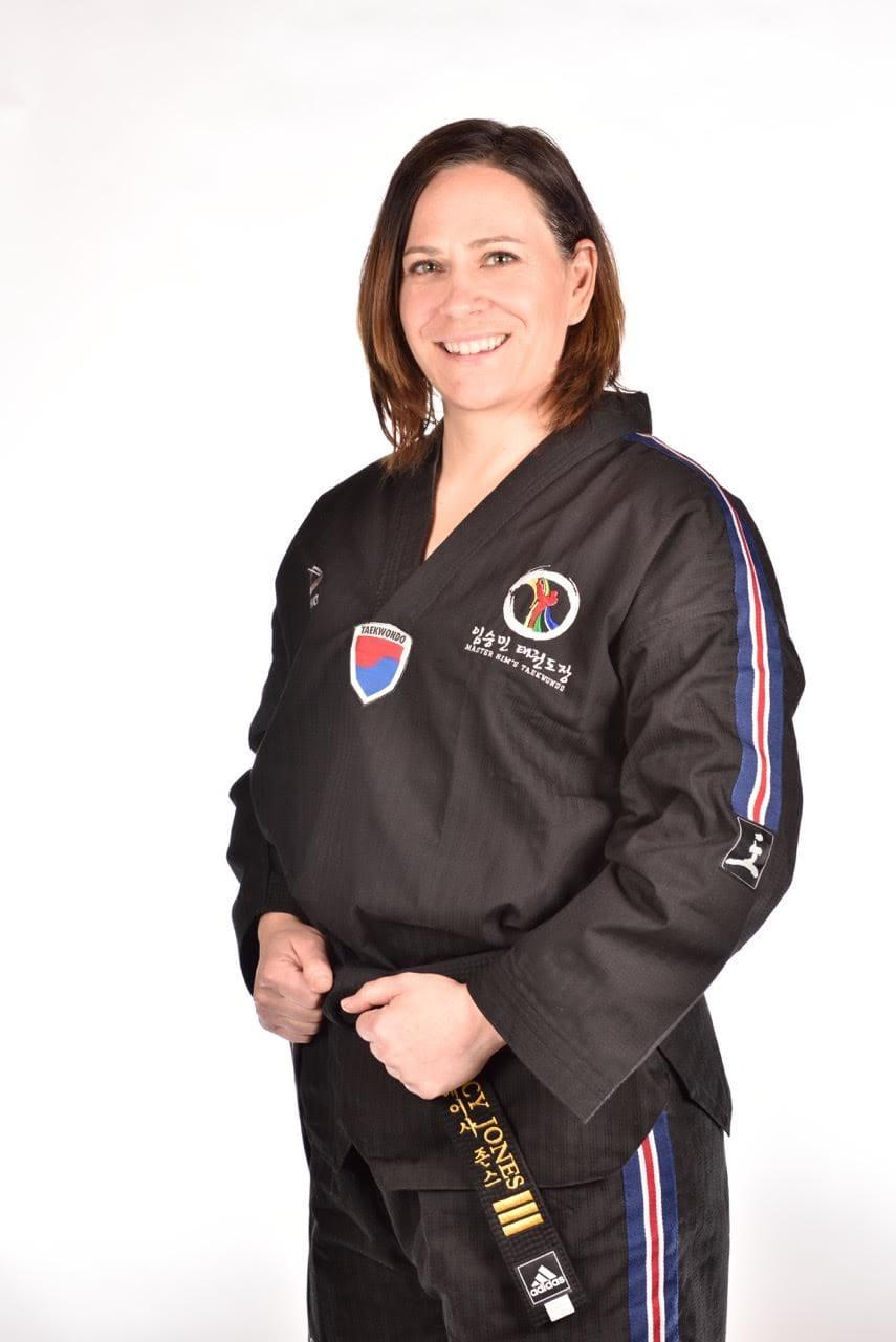 Instructor Stacy Jones in Calgary - Master Rim's Taekwondo