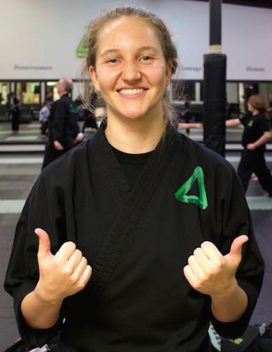 Kaitlin McClure in Gonzales - Active Martial Arts