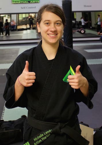 Michelle Landry in Gonzales - Active Martial Arts
