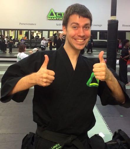 Chris Landry in Gonzales - Active Martial Arts