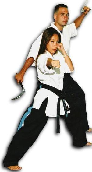 Shihan Joseph and China Rivera in Bronx - Excel Martial Arts
