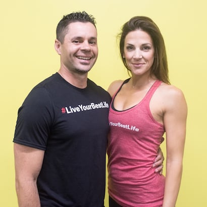 Brandon and Krista Kersey in Windsor - Kersey Kickbox Fitness Club