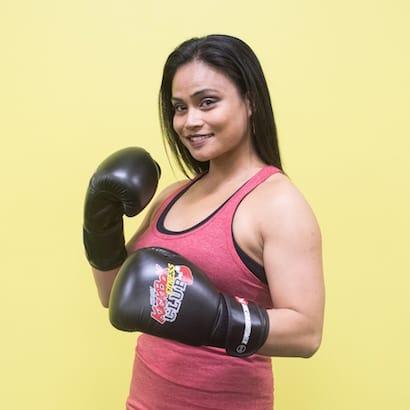 Audrey Abenes-Jouni in Windsor - Kersey Kickbox Fitness Club