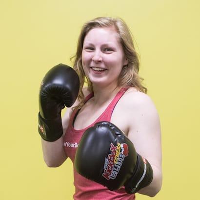 Taylor Clapp  in Windsor - Kersey Kickbox Fitness Club