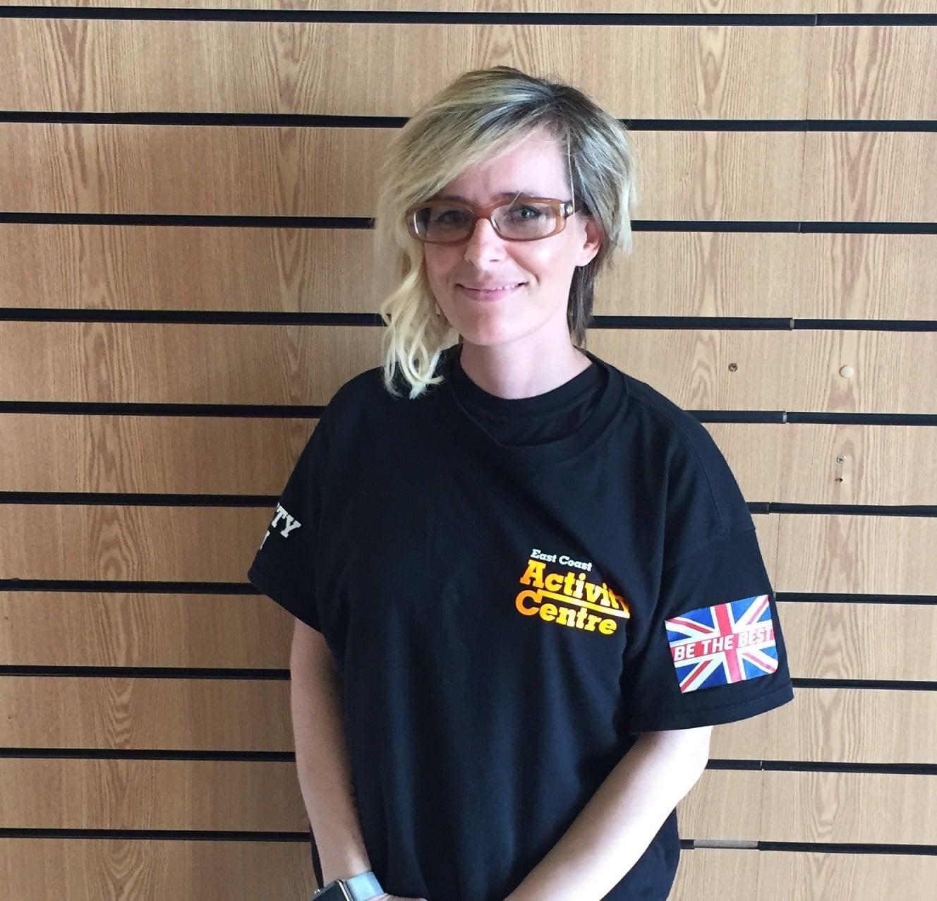 Emma Webster in Great Yarmouth - East Coast Black Belt School