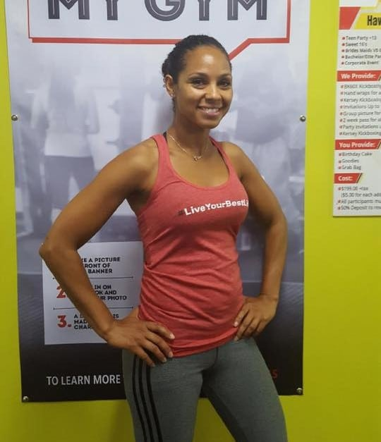 Angie Wilkins-Chalut in Windsor - Kersey Kickbox Fitness Club