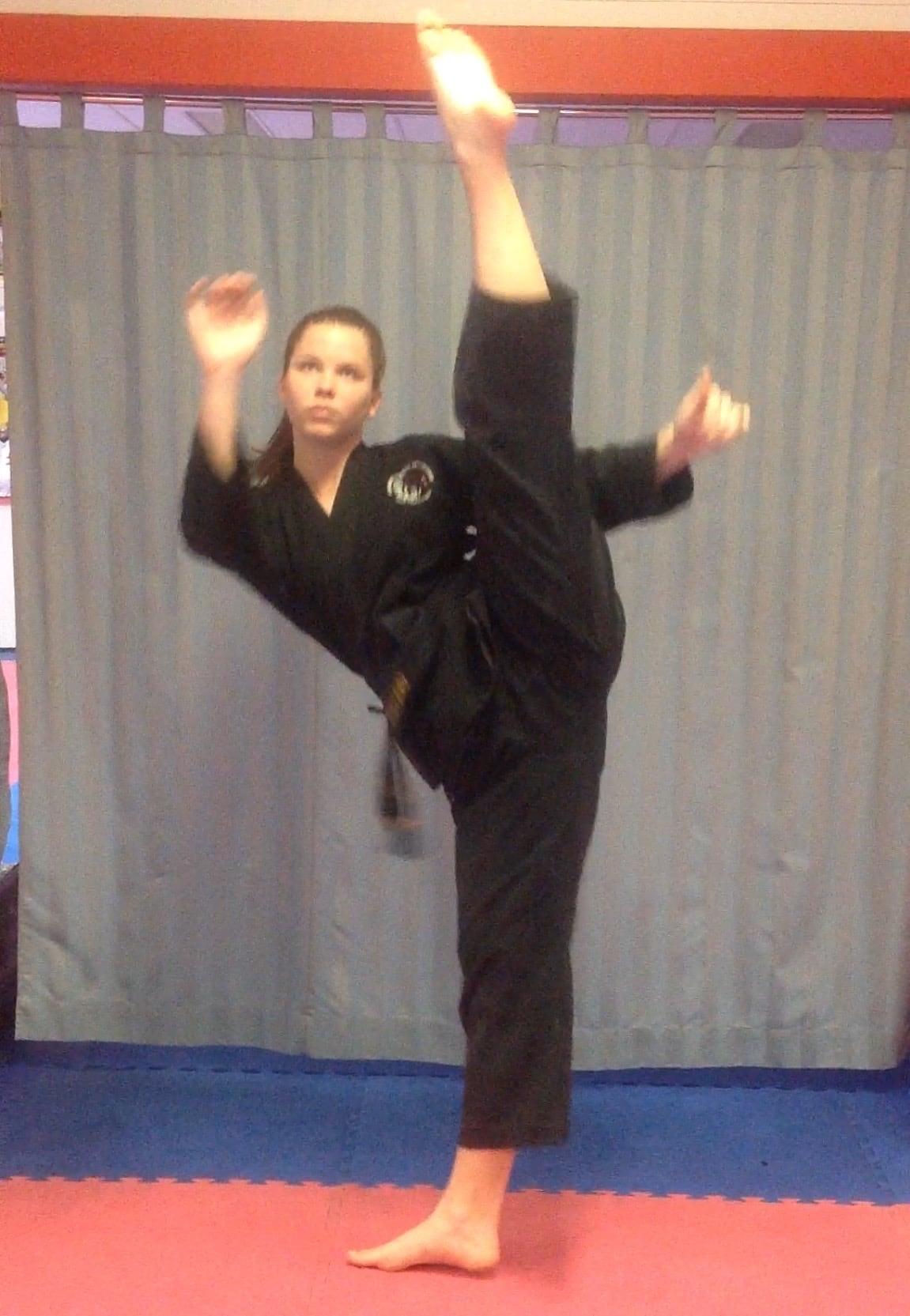 Sensei Cristina Zanetti in Nerang - Combined Martial Arts Academy Nerang
