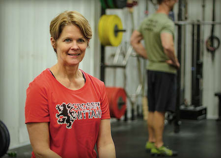 Mary Ann Hanlon in State College - CrossFit Nittany