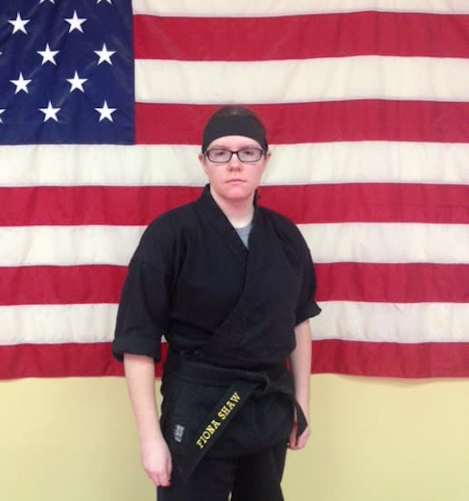 Sensei Fiona in Whitman - The TAMA Dojo