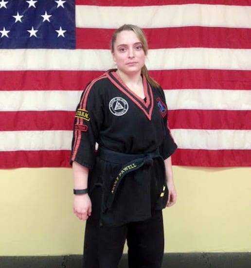 Sensei Nicole in Whitman - The TAMA Dojo