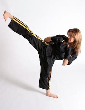 Master Roxanne Doyon in Newtown - The Dojo Karate Training Center
