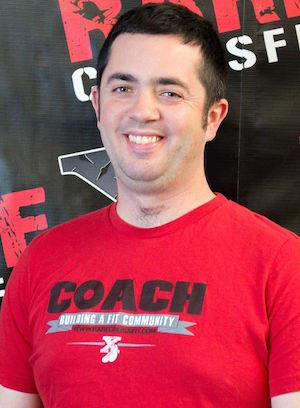 Tim Brown in Fredericksburg - RARE CrossFit