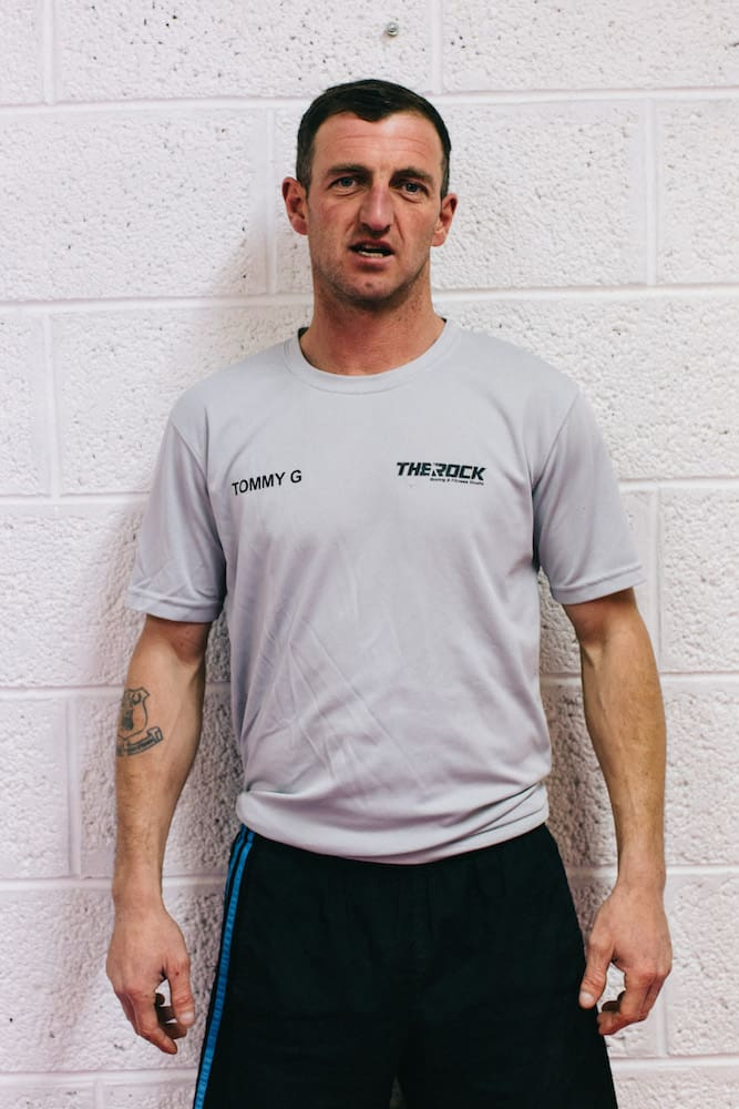 Tommy Graham in St. Helier - The Rock Fitness