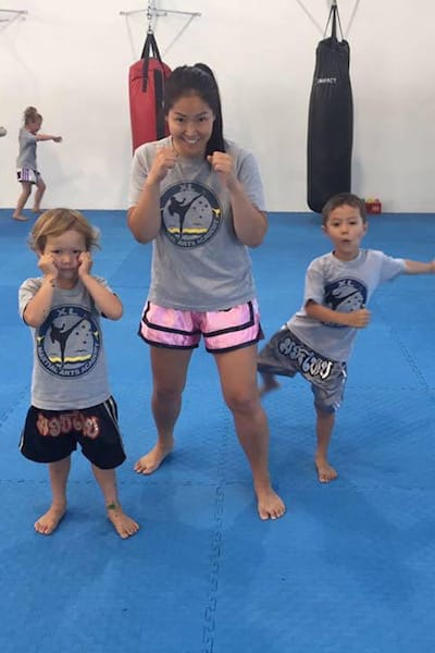 Leah Jensen in Mandurah - XL Martial Arts Academy