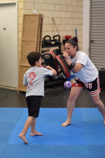 Kelly Maiolo in Mandurah - XL Martial Arts Academy
