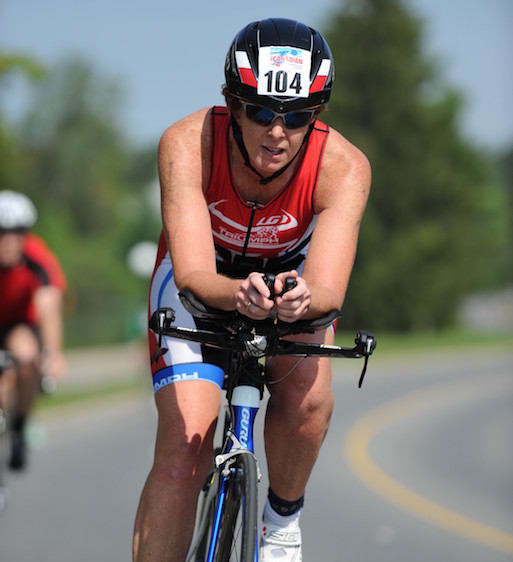 Julia Aimers  in Ottawa - Team Triumph Triathlon Club
