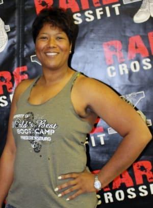 Joy Smith in Fredericksburg - RARE CrossFit