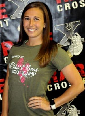 Kelsey Randall in Fredericksburg - RARE CrossFit