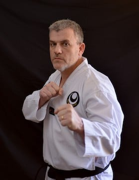 Steve Montgomery in 	 Oklahoma City  - Jack Hwangs Martial Arts