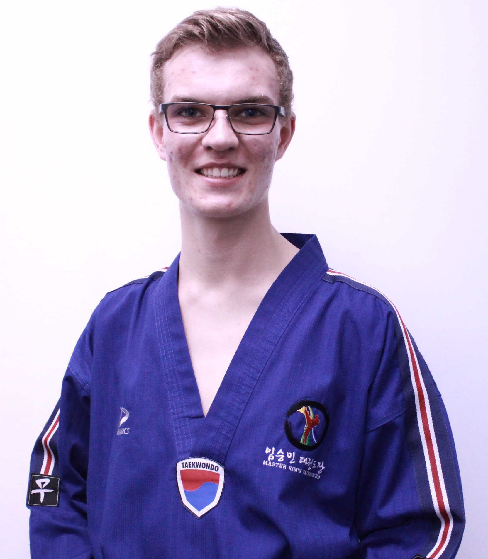 Instructor Sean  in Calgary - Master Rim's Taekwondo