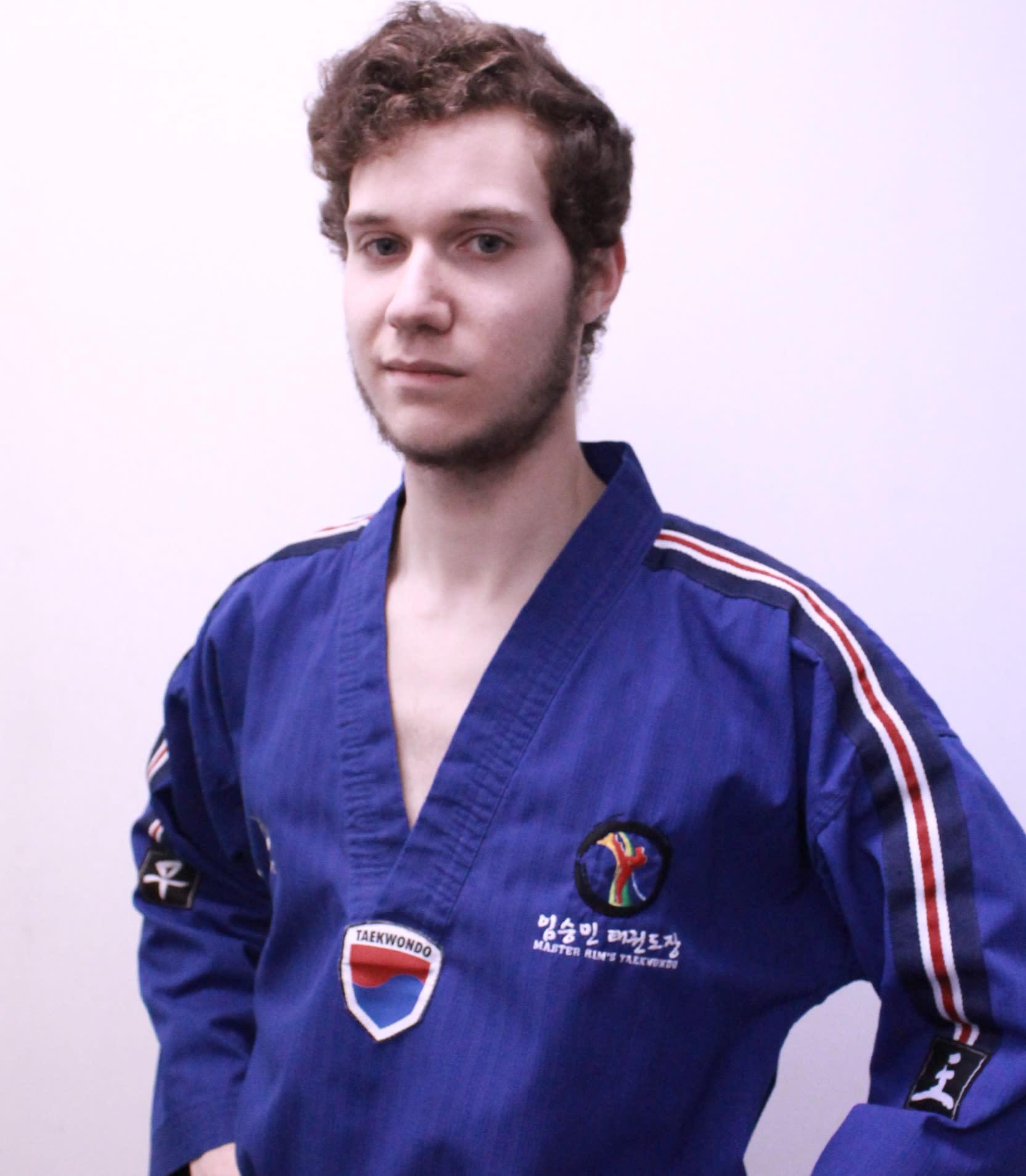 Instructor Liam  in Calgary - Master Rim's Taekwondo