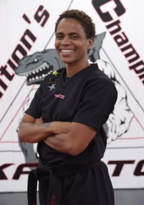 Sharon Williams in Bronx - TCK Mixed Martial Arts