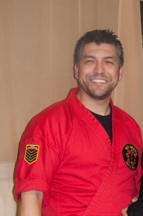 Shigong Ted Guerrero  in Pacific Beach - Red Dragon Championship Martial Arts