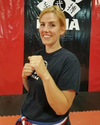 Leah Tierney in Marlborough - New England Martial Arts Athletic Center