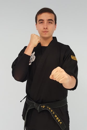 Domenic Garafano in North Attleboro - Mu Han Total Martial Arts