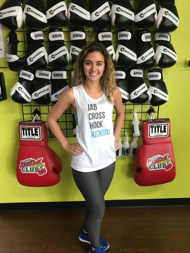 Chantal Perez Moeser in Windsor - Kersey Kickbox Fitness Club
