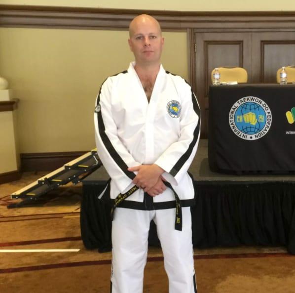 Matthew Stewart in Orlando - Three Dragons Martial Arts Academy