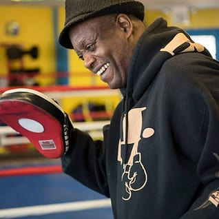Vic Lashley in Monmouth County  - Southpaw Gym