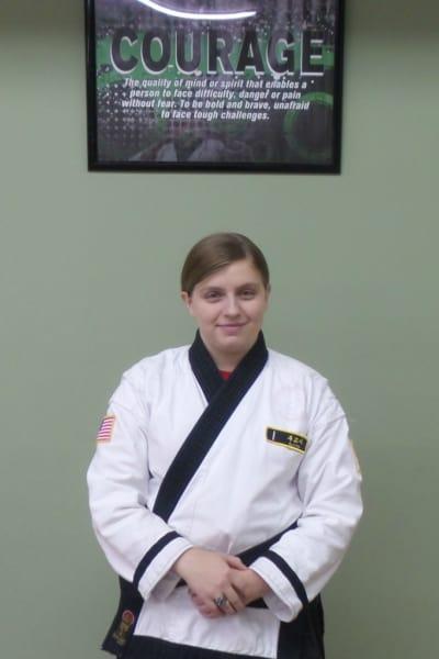 Miranda Teixeira in Fayetteville - Family Martial Arts Academy