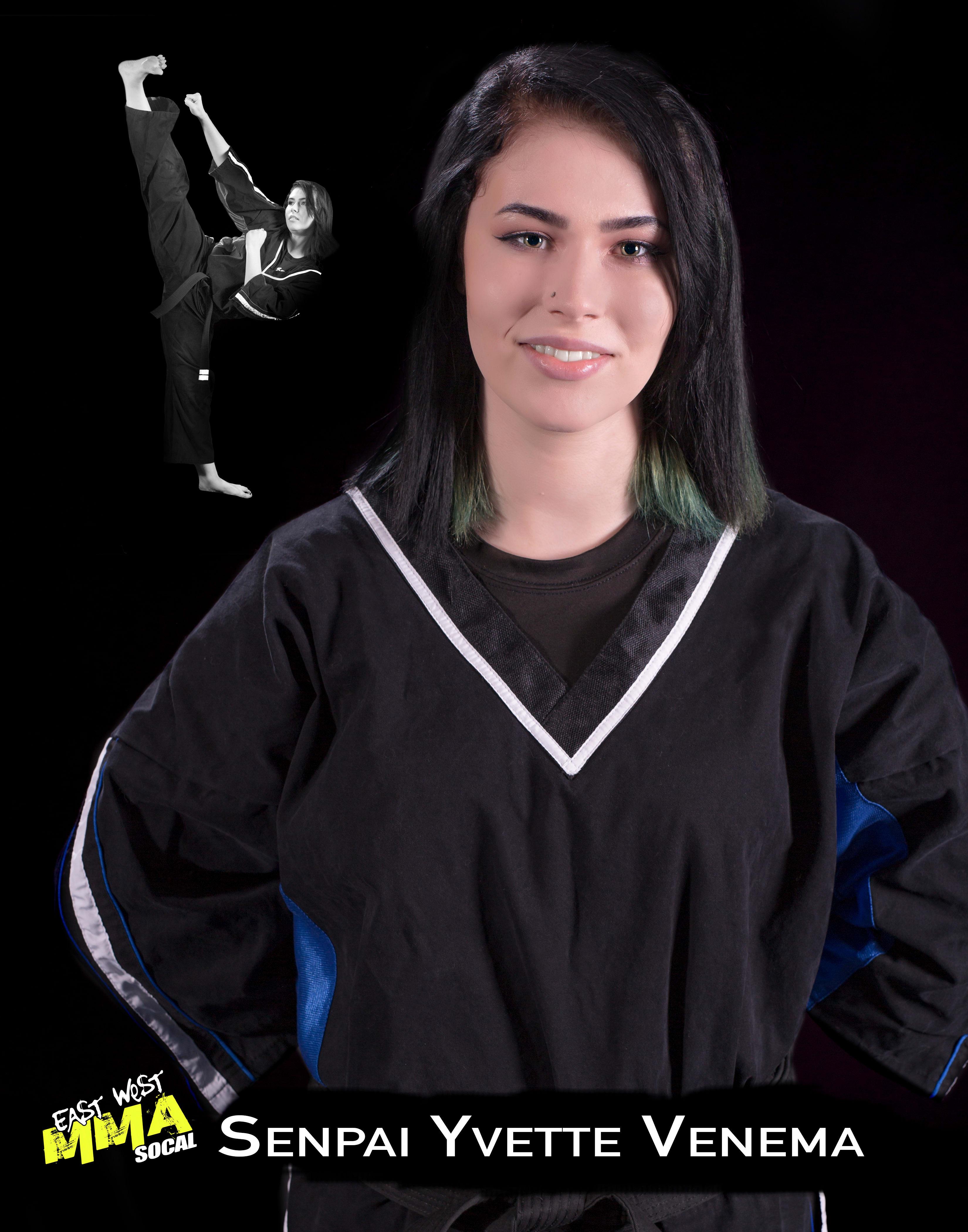 Senpai Yvette in Escondido - East West MMA SoCal