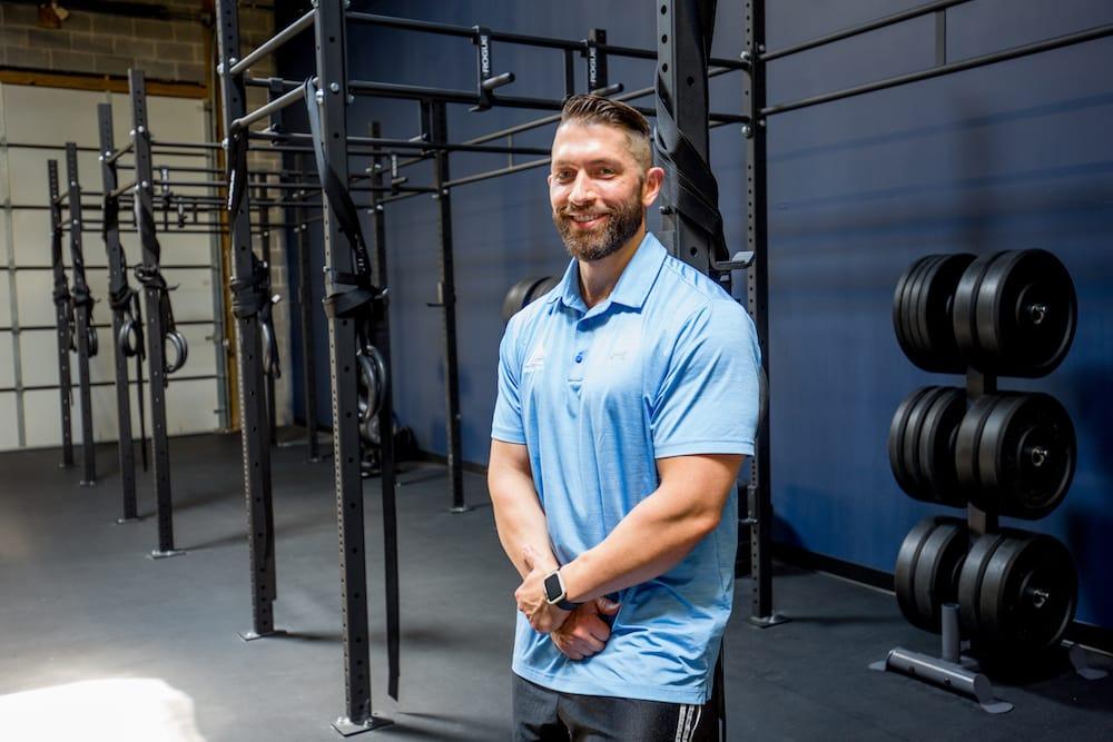 Dave Shutler in Ashburn - Icon Gym