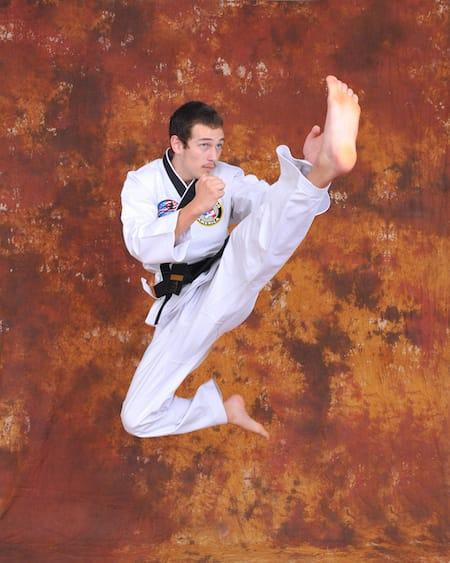 Jeremiah Hitson in Maryville - Church's Taekwondo America