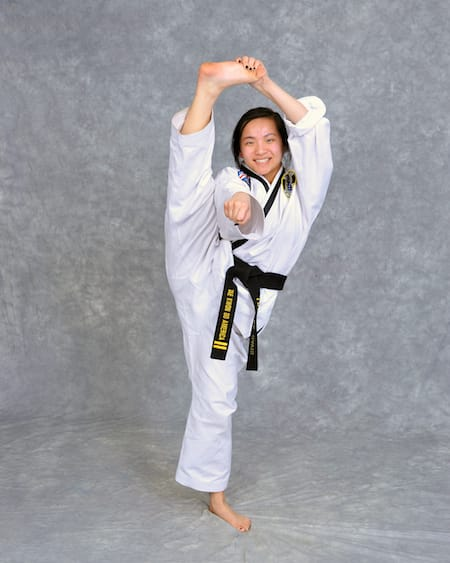 Lilliana Davis in Maryville - Church's Taekwondo America