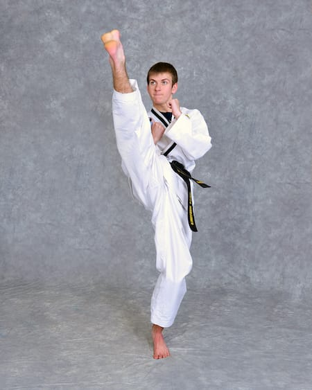 Hunter Bumgarner in Maryville - Church's Taekwondo America