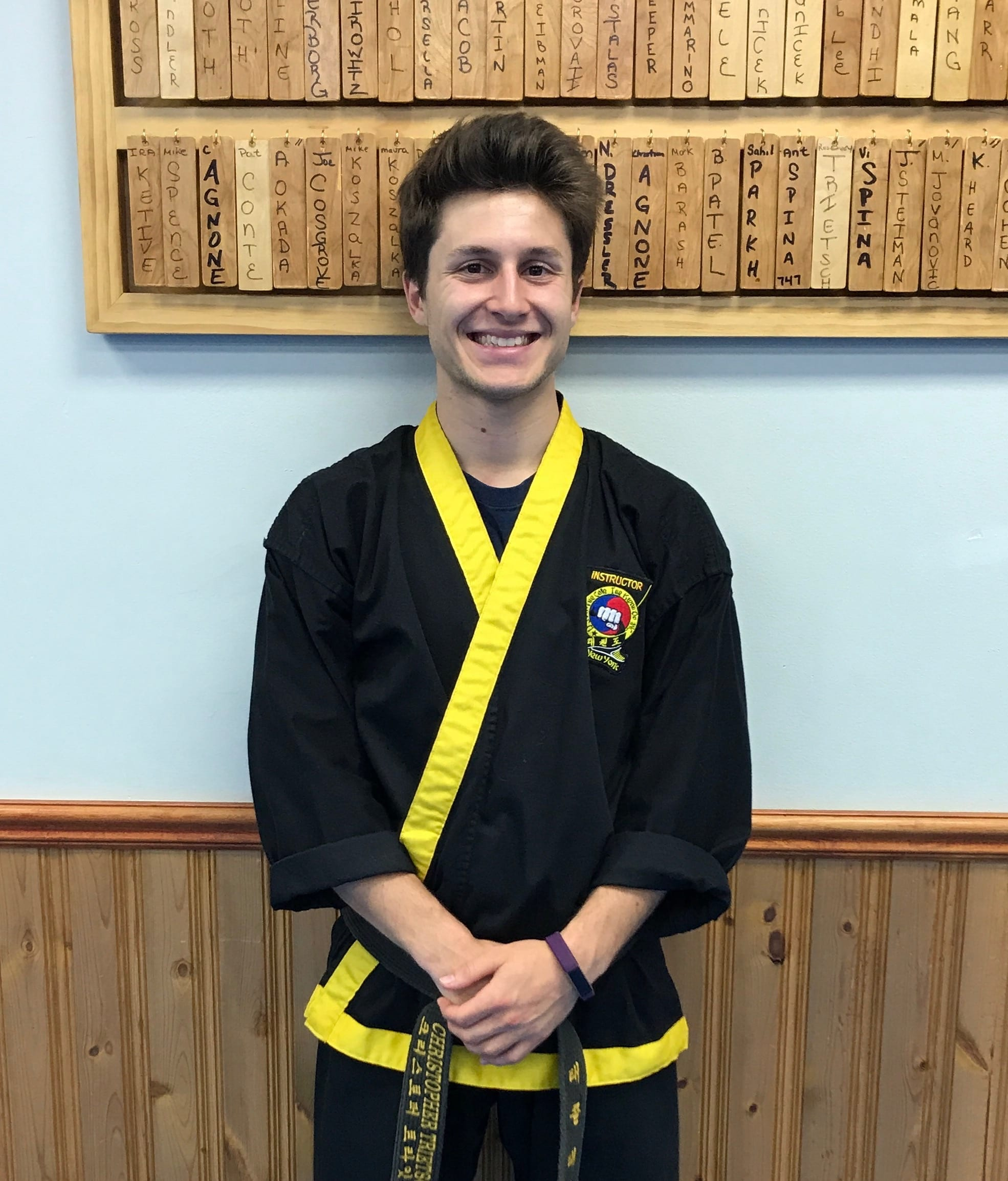 Chris Trietsch in Albertson - Taecole Tae Kwon Do & Fitness