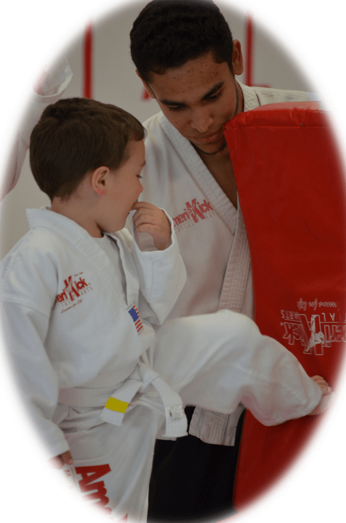 Sensei Andrew Bacchus in Levittown - Amerikick Martial Arts