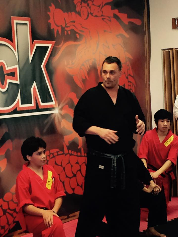 Sensei Justin Smith in Levittown - Amerikick Martial Arts