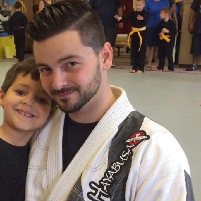 Dean Watts in Johnston - Rising Sun Jiu-Jitsu