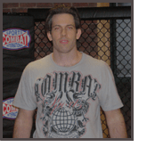 John McDonough in 	 Boston - Combat Sports