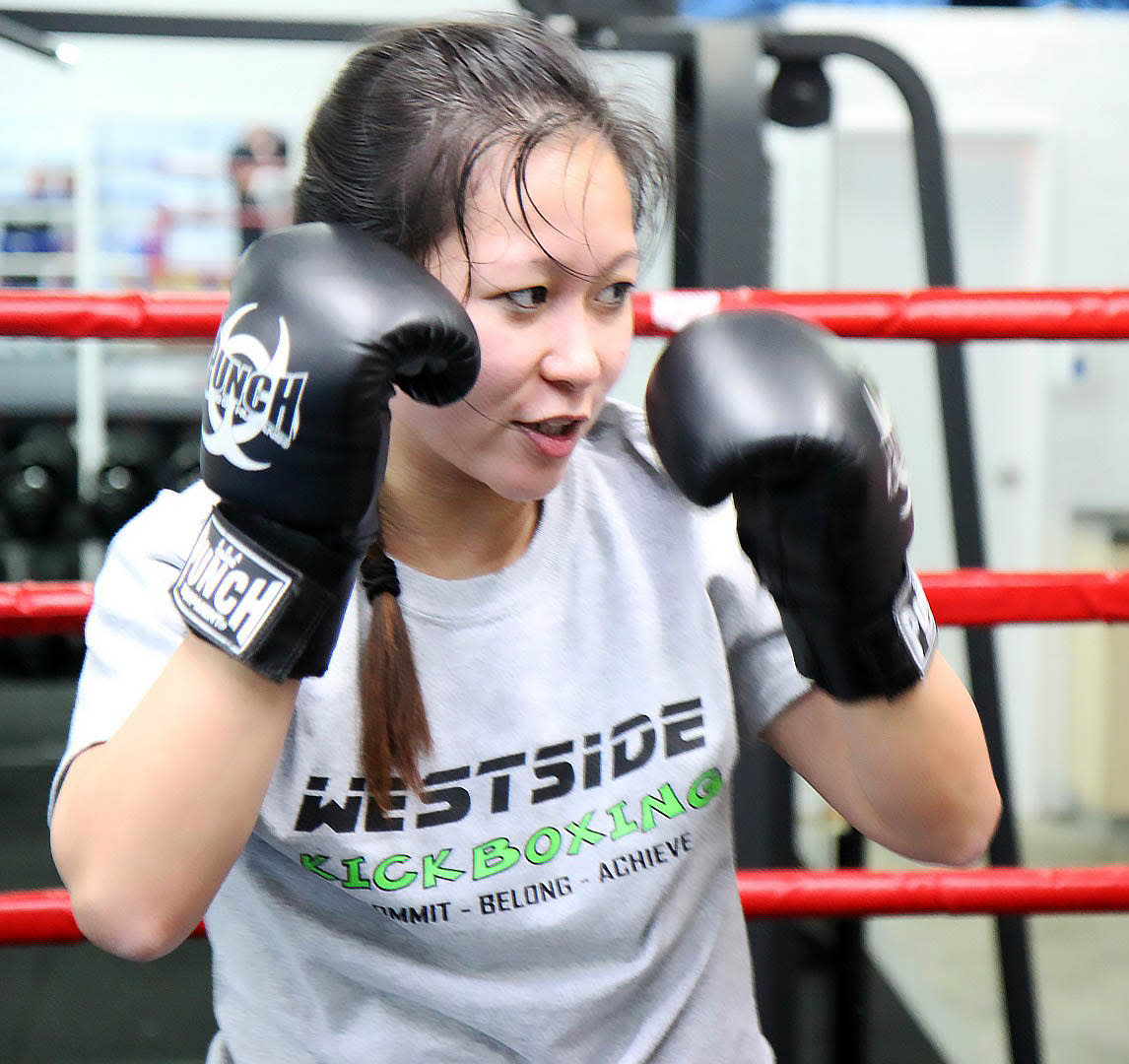 Jennie Lim in O'Connor - Westside Kickboxing