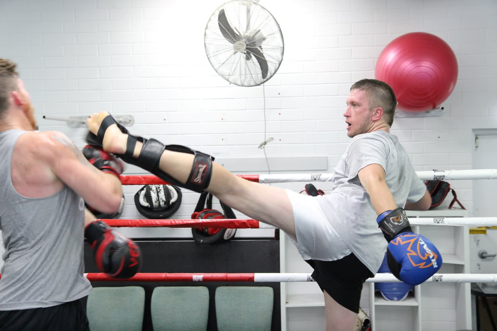 Vinnie Meatball Pope in O'Connor - Westside Kickboxing